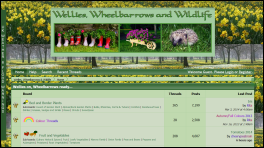 Wellies, Wheelbarrows & Wildlife